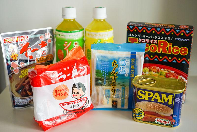 沖縄グルメの商品