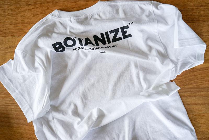 DO NUTS FACTORY × BOTANIZE LOGO Tシャツ(バック)