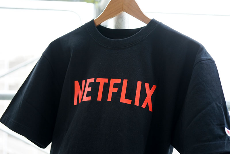 NETFLIX × BEAMS / Staff T-Shirt(フロント)